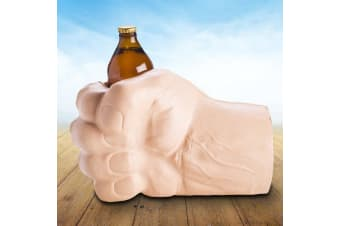 Giant Beast Fist Stubby Holder | Big Hand Beer Bottle Longneck Drinks Alcohol