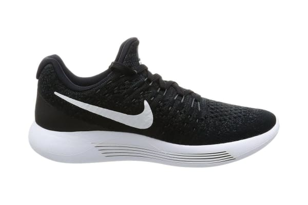 Nike Women s LunarEpic Low Flyknit 2 Running Shoe (Black White Anthracite fe5c6db5d8