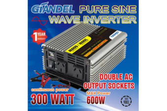 Pure Sine Wave Inverter Thermal Overload Protection 300W