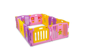 NEW 10pc Playpen - Toddler Baby Kids Safety Divider Child Gate Plastic Monitor