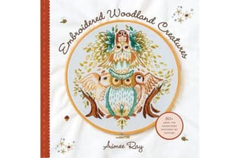Embroidered Woodland Creatures - 50+ Iron-On Transfers Inspired by Nature