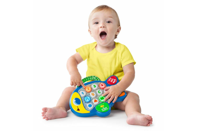 Bright Starts Learn & Giggle Fish Musical/Educational Baby/6m+ Kids Music Toys