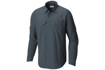Columbia Mens Silver Ridge Long Sleeve Shirt - Mystery