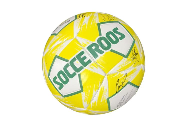"Summit 5"" Socceroos Kids Soft Soccer/Football Sports Training/Playing Ball"