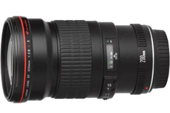 New Canon EF 200mm f2.8L II USM F/2.8 L Lens (FREE DELIVERY + 1 YEAR AU WARRANTY)