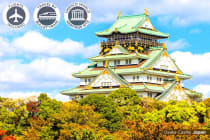 JAPAN: 10 Day Best of Japan Tour Including Flights for Two