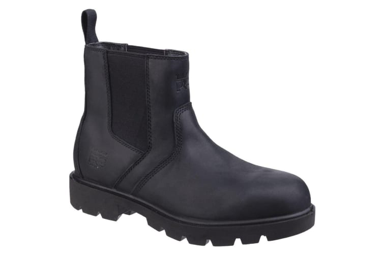 Timberland Pro Mens Sawhorse Dealer Slip On Safety Leather Boots (Black) (7 UK)