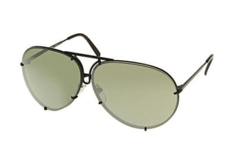 Porsche Design 8478 - Black (Silver Mirrored lens) / 69--10--135 Unisex Sunglasses