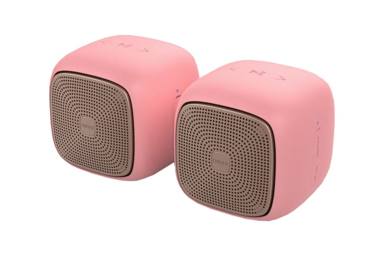Edifier MP202 DUO 2.0 Bluetooth Portable Speaker - Pink (SPE-MP202DUO-PK)