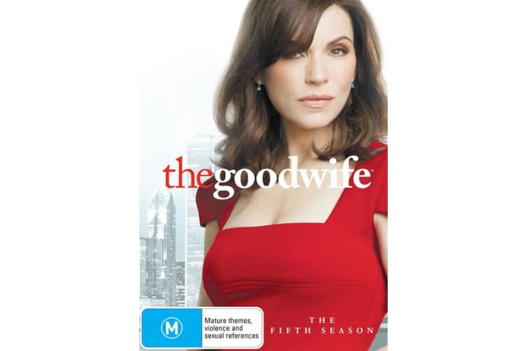 The Good Wife Season 5 DVD Region 4