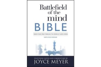 Battlefield of the Mind Bible - Renew Your Mind Through the Power of God's Word