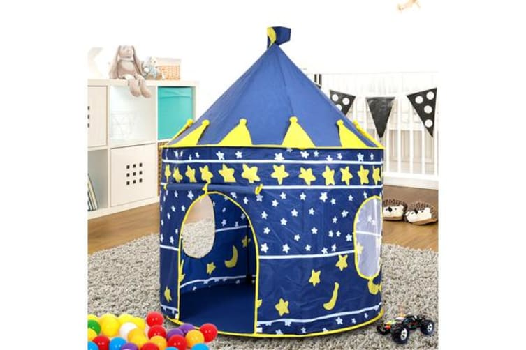 New Kid Play Tent Blue Castle