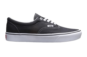 Vans Men's Comfycush Era Classic Shoe (Classic Black/True White, Size 7 US)