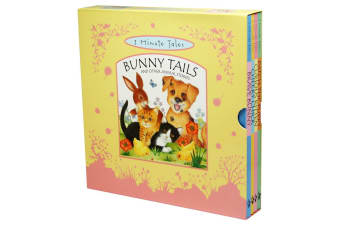 3 Minute Tales - Bunny Tails and Other Animal Stories 4 Book Set