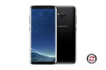 Samsung Galaxy S8+ Refurbished (64GB, Midnight Black) - A Grade