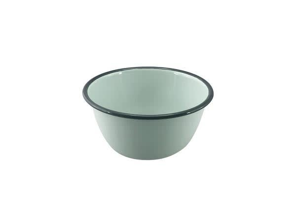 Falcon Enamel Pudding Basin 16cm Duck Egg Blue