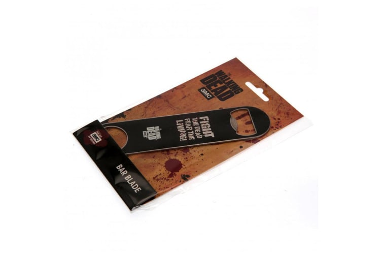 The Walking Dead Bar Blade (Black) (One Size)