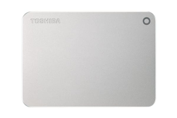 Toshiba Canvio Premium P2 USB 3.0 Portable External Hard Drive 2TB - Silver (HDTW220AS3AA)