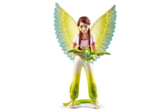 Schleich Bayala Movie Surah Figure with parrot Kuack