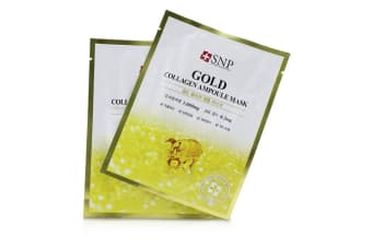 SNP Gold Collagen Ampoule Mask 11x25ml/0.84oz