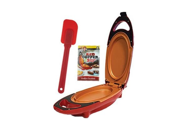 Red Copper 5 Minute Chef Electric Food Press
