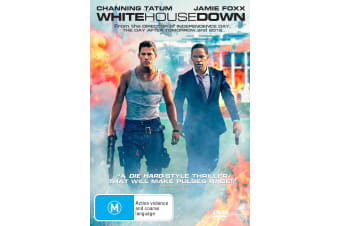 White House Down DVD Region 4