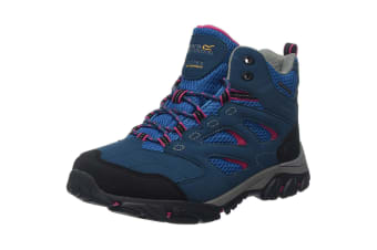 Regatta Womens/Ladies Holcombe IEP Mid Hiking Boots (Moroccan Blue/Duchess) (6.5 UK)