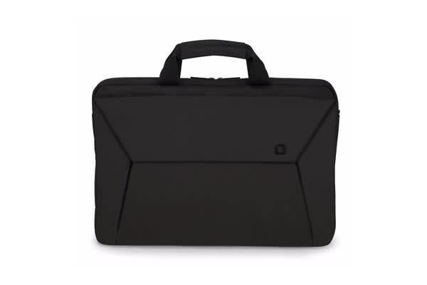 "Dicota Slim Case EDGE Carry Bag with shoulder strap for 14"" - 15.6""  Notebook /Laptop (Black) Euro"