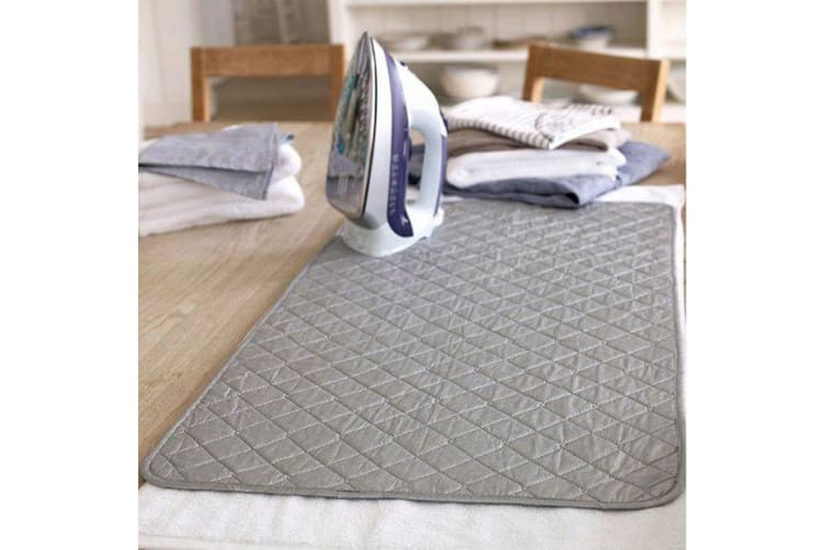 2x Iron Anywhere Portable Magnetic Ironing Mat Blanket Ironing Board Replacement
