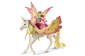 Schleich Bayala Fairy Feya with Pegasus Unicorn