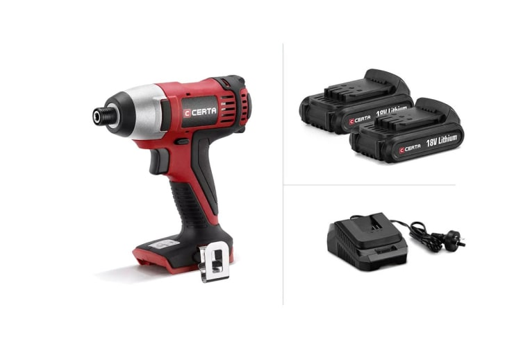 Certa PowerPlus 18V Cordless Impact Driver Kit
