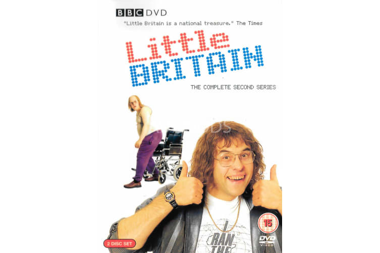 Little Britain - Series Region 2 Rare- Aus Stock DVD Preowned: Excellent Condition