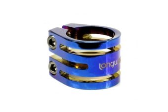 Longway Clamps Sector - Blue Neochrome