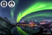 SCANDINAVIA: 10 Day Northern Lights Pursuit Including Flights for Two