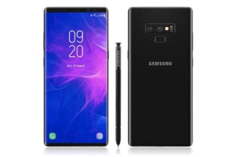 Brand New Samsung Galaxy Note 9 Dual SIM 512GB Phone Midnight Black (12MTH AU WTY)
