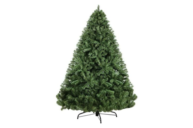 Jingle Jollys 2.4M 8FT Christmas Tree Xmas Decoration Green Home Decor 1500 Tips
