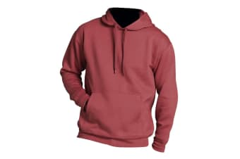 SOLS Slam Unisex Hooded Sweatshirt / Hoodie (Red)