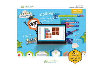 Honeycomb Queen Kit Connecting/Coding Education/Learning/Training Kids Toy