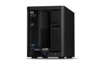 Western Digital My Cloud PR2100 8TB Ethernet LAN Desktop Black NAS