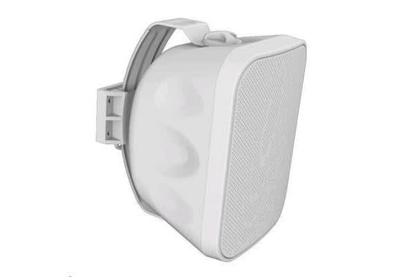 "LUMI AUDIO OWM-5 5.25"" 2-way Outdoor Wall Mount Speaker. RMS Power 60W. White"