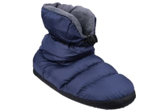 Cotswold Childrens/Kids Camping Adjustable Slipper Boots (Navy) (Small)