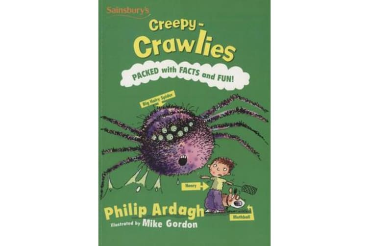 CREEPY CRAWLIES PACKED WITH FACTS & FUN