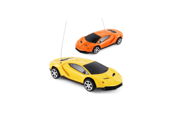 Random Channels Remote Control Sports Car Toy For KidsColor Remote Control Car - 29-14 Red
