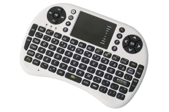 2.4Ghz Mini Wireless Keyboard Touchpad Mouse Combo Rechargeable Usb 2.0 Ukb-500