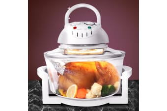 Devanti 17L Convection Oven Halogen Roaster Low Fat Air Fryer Turbo Electric