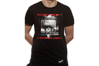 The Clash Adults Unisex Adults Sandinista! T-Shirt (Black)