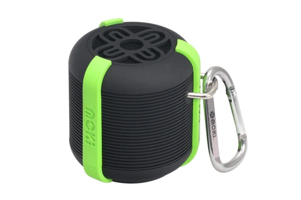 AquaBass Waterproof Bluetooth Speaker - Black/Green (ACCAQBG)