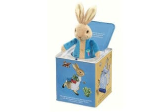 Officially Licensed Peter Rabbit Jack In The Box