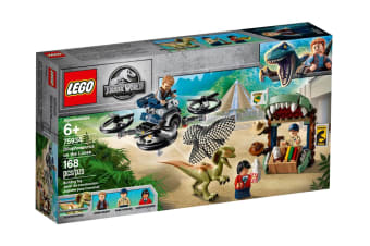 LEGO Jurassic World Dilophosaurus on the Loose (75934)