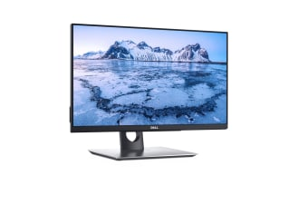 """DELL P2418HT touch screen monitor 61 cm (24"""") 1920 x 1080 pixels Black,Silver"""